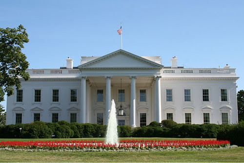 This White House Picture shows the front by U.S. Embassy Jakarta, Indonesia, on Flickr