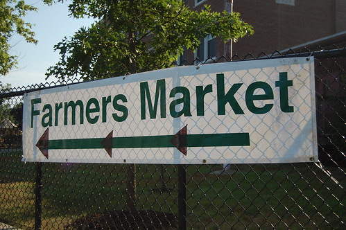 Gee, where is the Farmers Market?