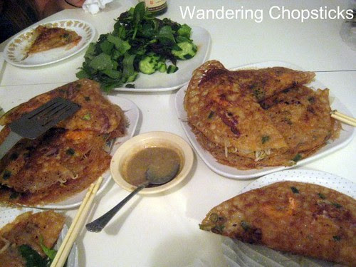 Day 3.6 Mom's Banh Xeo (Vietnamese Sizzling Crepes) 1