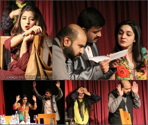 Behroopiya Entertainers Guest List English comedy play Stills