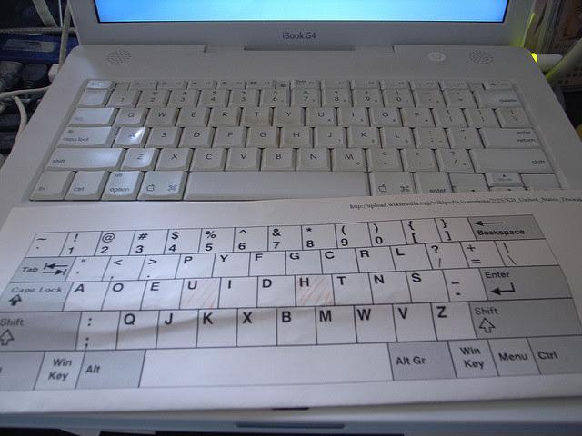 لوحة مفاتيح دافوراك