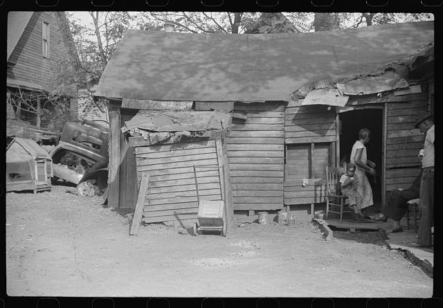 Negro homes, Charleston, West Virginia