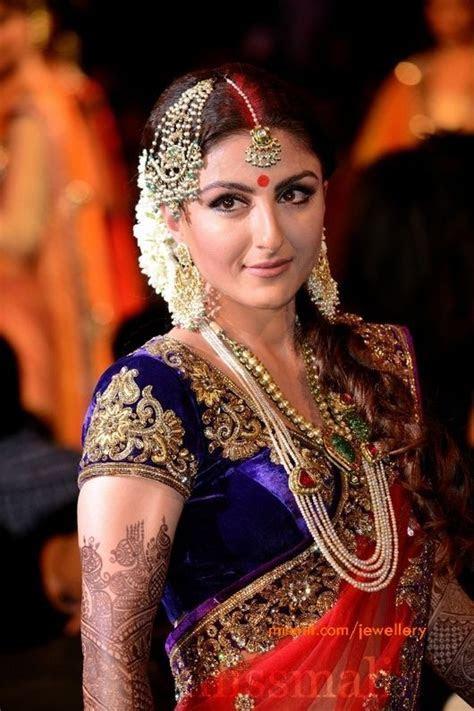soha ali khan pearl jewellery   Wedding   Indian Bridal