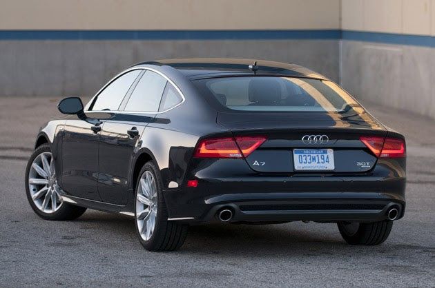 2012 Audi A7 Supercharged Specs