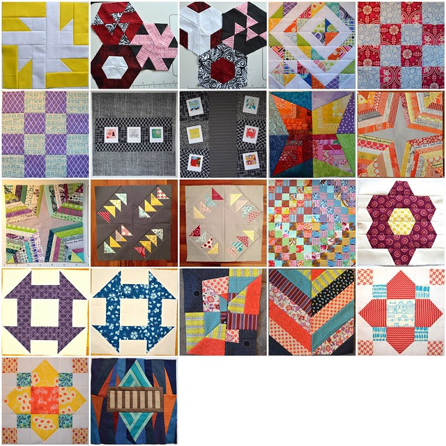 2013 Bee Blocks, set 2 of 2
