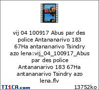 vij 04 100917 Abus par des police Antananarivo 183 67Ha antananarivo Tsindry azo lena