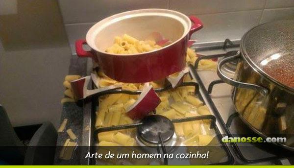 Homem na cozinha!