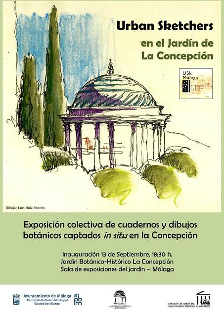 USk Málaga sketchbook exhibition