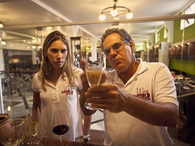 Horácio Barros no Brasil, enófilo, Varginha (Foto: Pedro Henrique Barros/Wine World Adventure)