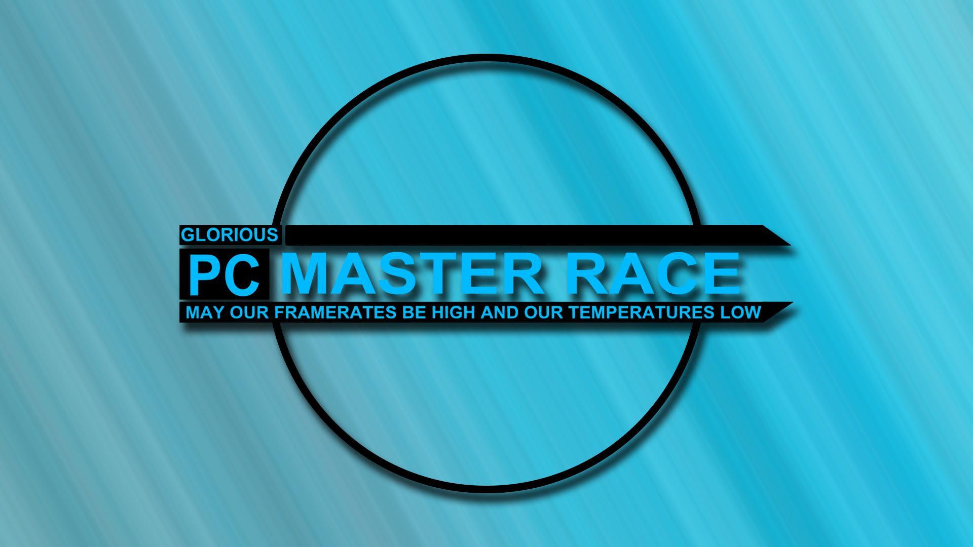 A Blue Pcmr 1080p Wallpaper Pcmasterrace