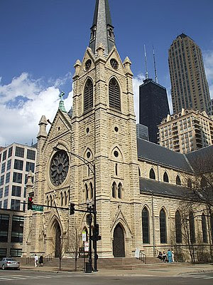 Holy Name Cathedral, Chicago taken by Gerald C...