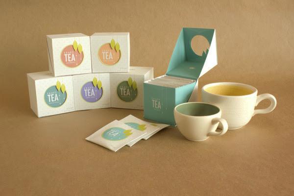 ładnie zapakowana herbata