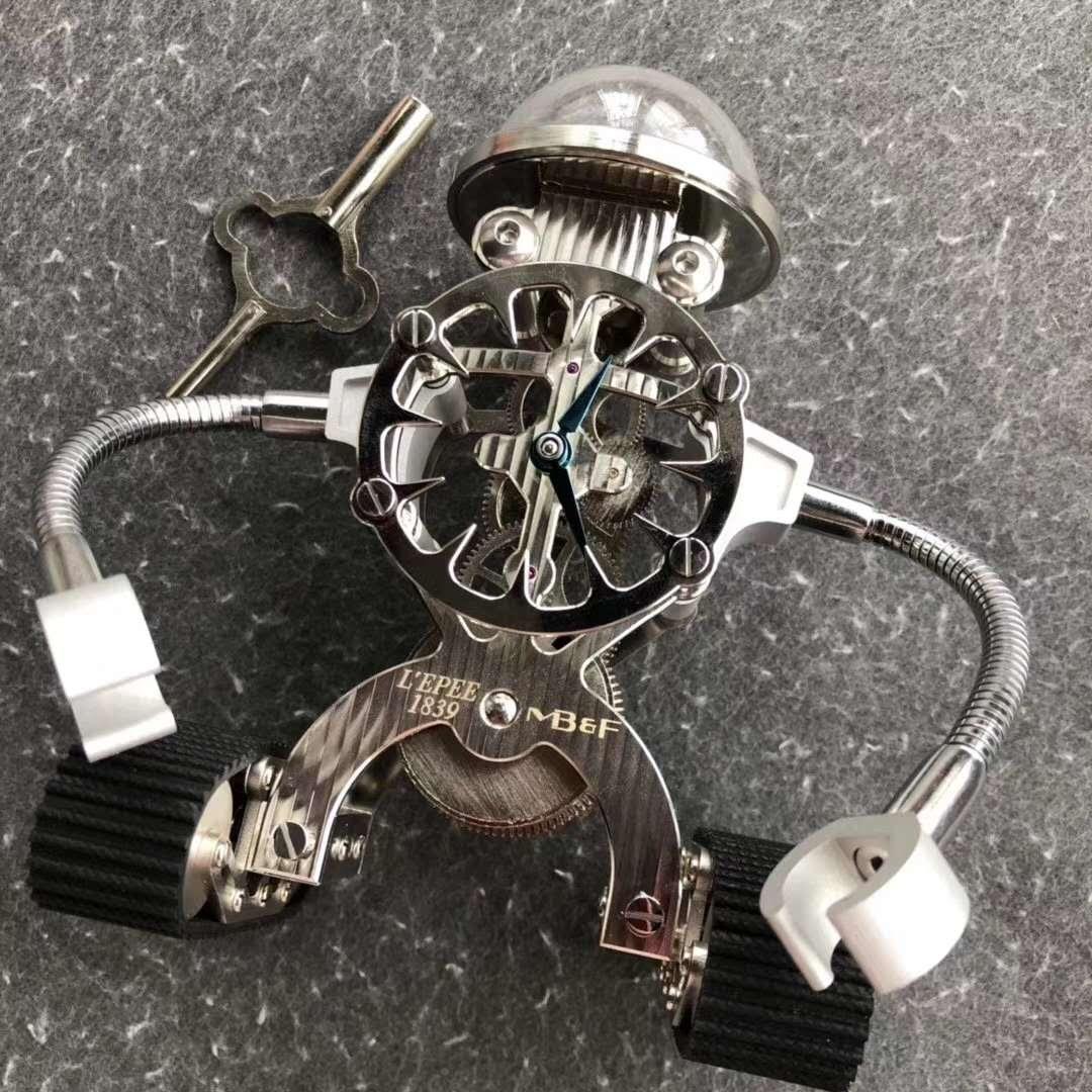 MB&F Sherman Happy Robot Clock