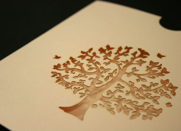 Laser Cut Wedding CD Covers A little while ago we did some Wedding invites