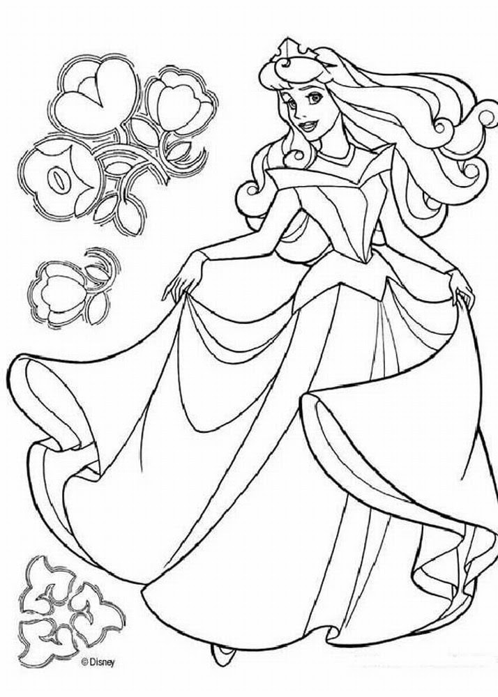 Free Printable Disney Princess Coloring Pages For Kids Coloring Pages
