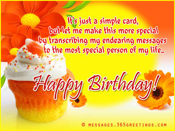 Marvelous B Day Wishes With Cupcake For Special Person In My Life Nice Wishes