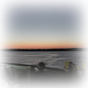 Sunset from Ferry