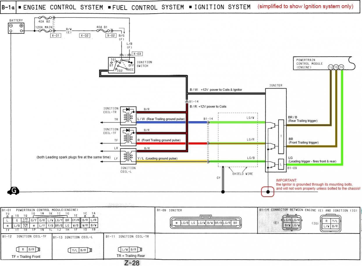 Msd Ignition Wiring Diagram