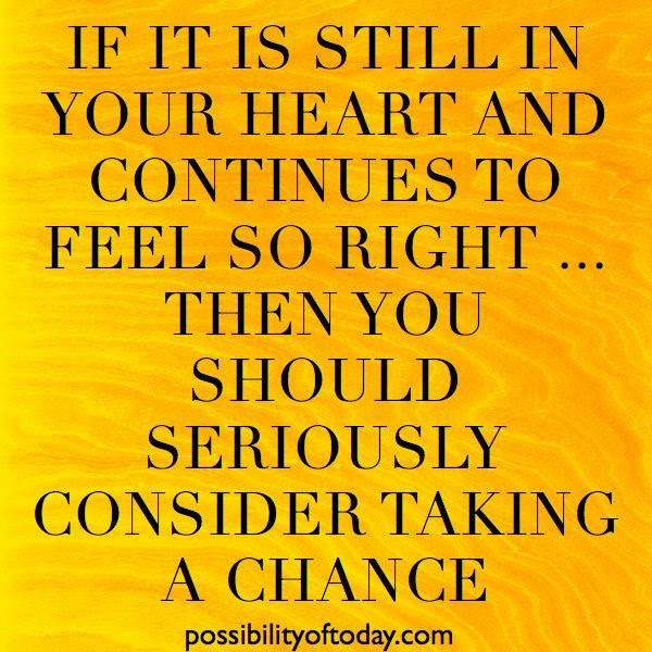 Quotes About Taking A Chance Love 17 Quotes