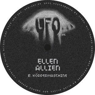 Avatar of RA: Ellen Allien - Körpermaschine on UFO Inc.