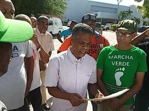 Ver video del Llaman a huelga por 24 horas oara el próximo 27 de este mes en Barahona