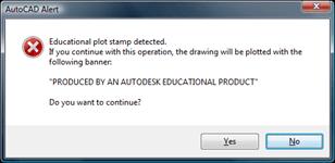 AutoCAD Alert