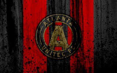 wallpapers  fc atlanta united grunge mls
