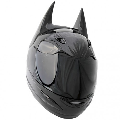 regalos originales casco de moto batman