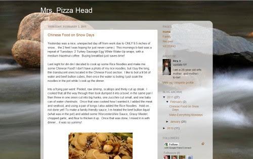 Mrs Pizza Head