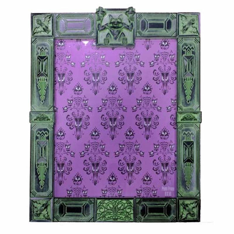 Disney Parks Authentic Resin Picture Photo Frame The Haunted Mansion