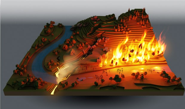 Peter Molyneux's 22cans pitching Populousesque project on Kickstarter, 'Godus'