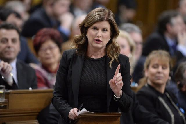 La chef par intérim du Parti conservateur du... (Photo Adrian Wyld, La Presse canadienne)