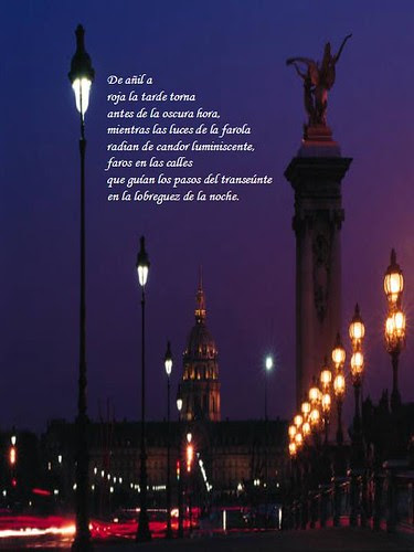 Faros en la noche