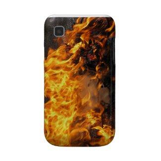 Burning Brush Samsung Galaxy S Covers
