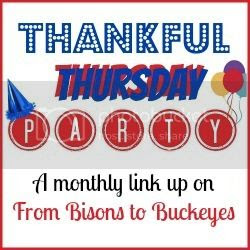 From Bisons to Buckeyes: Thankful Thursday Party