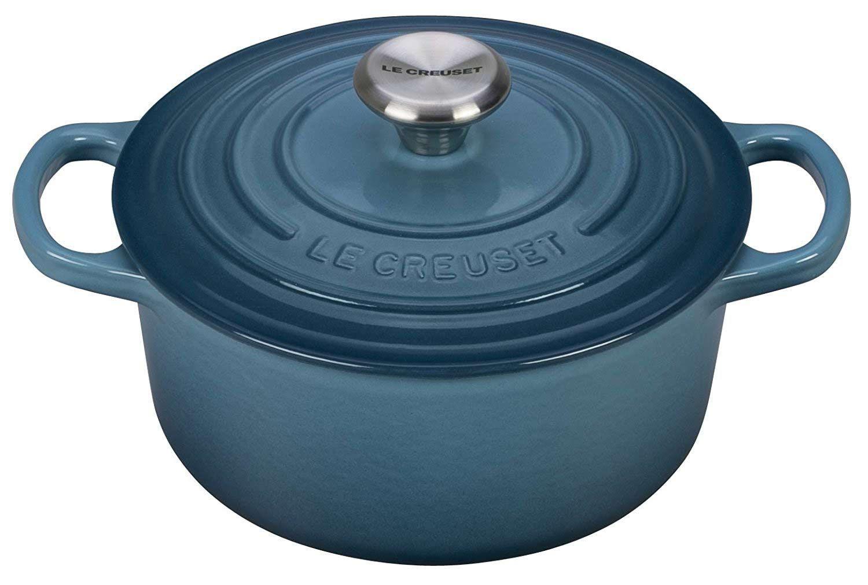Le Creuset 7.25 Qt Marine Round Dutch Oven - LS2501-286MSS