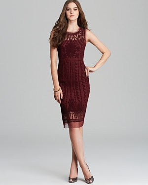 Catherine Malandrino Favorite Marcella Embroidered Dress