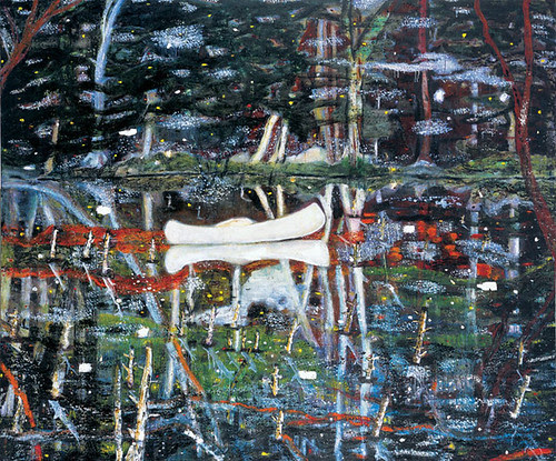 Peter Doig White Canoe