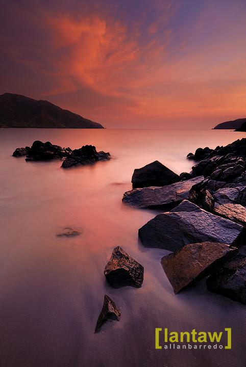 Nagsasa Cove Dusk