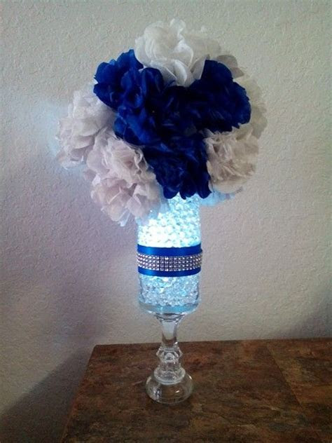 17  best ideas about Royal Blue Centerpieces on Pinterest