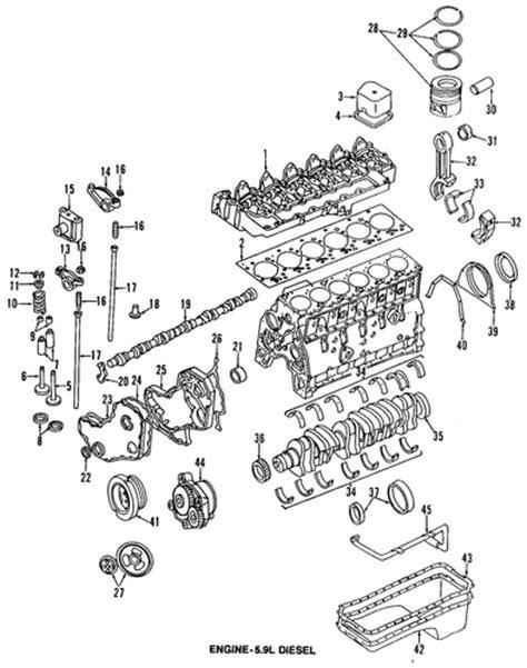 ENGINE for 1998 Dodge Ram 3500 Parts | Wermopar