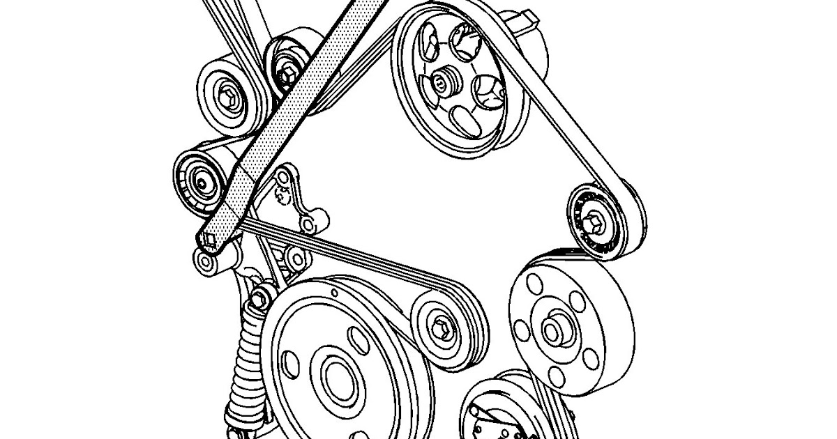 30 2004 Pontiac Grand Prix Belt Diagram