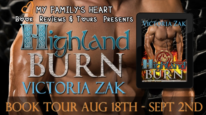 Highland Burn - Tour Banner
