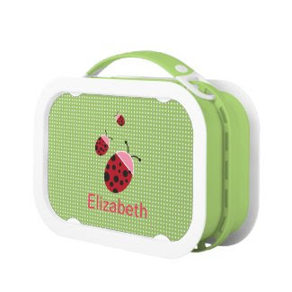 Lady Bug Lunch Box