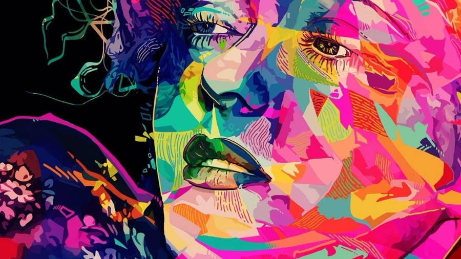 Irish Eyes, painting by Delilah Smith