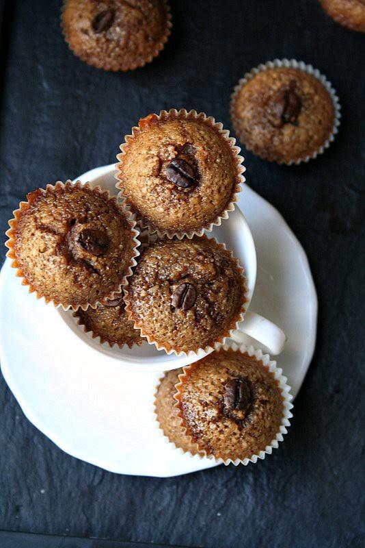 Coffee Almond Petite Cakes