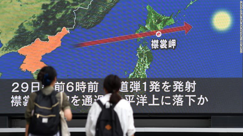 Image result for North Korea Missile Launch
