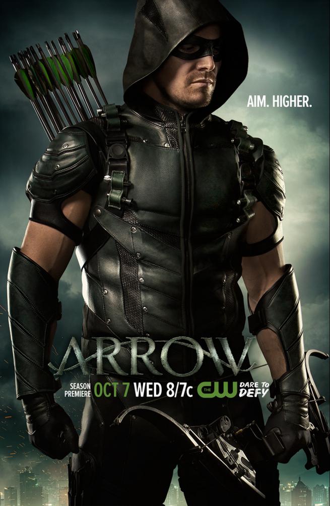 New Arrow Season 4 Poster Released