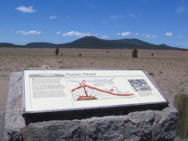 Pumice Desert, Crater Lake