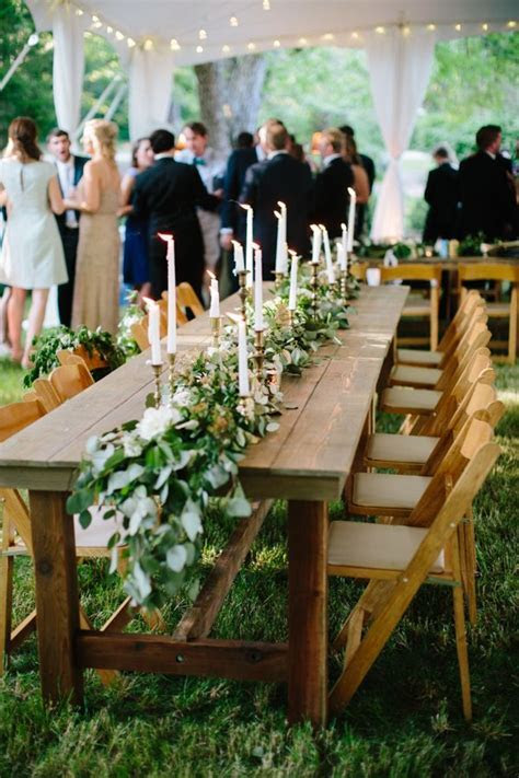 Garden Wedding at The Hill by Lauren Carnes   Table and